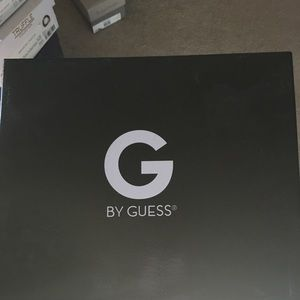 Black fabric by GG by Guess shoe use one time